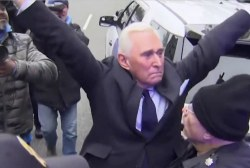 Trump, Republicans decry Roger Stone arrest