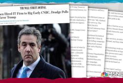WSJ: Cohen paid Liberty U. CIO to rig online polls for Trump