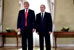 Trump's repeated private meetings with Putin raise questions