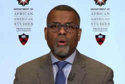 Prof. Eddie Glaude: 'Underneath this is a sense of double standard'