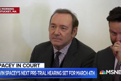 Kevin Spacey makes first court appearance over sexual assault charges