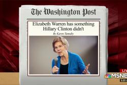 Will Warren emerge as the Democratic nominee?