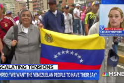 Venezuelan human rights activist: We need new elections and to 'rescue our country'