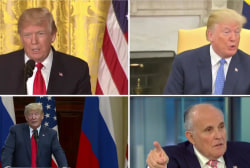Giuliani backtracks, no longer denies campaign collusion