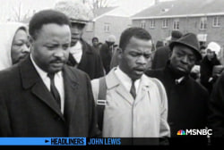 'Headliners: John Lewis' Showing Fearlessness, Encouraging Others