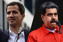 Maduro cuts relations with U.S. as Trump recognizes opposition leader