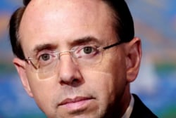 Rosenstein plans to stay on until Mueller submits report