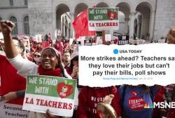 """Teacher union head: """"Not right"""" teachers can't make ends meet"""