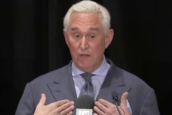 Trump and Graham question raid at Roger Stone's house