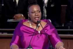 Martin Luther King, Jr.'s daughter warns of division in the U.S.