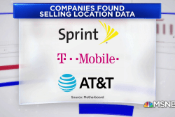 Major cell phone companies are selling customers' locations