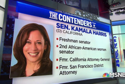 Kamala Harris becomes first African-American to enter 2020 race