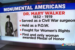 #MonumentalAmerican: The only woman to receive the Medal of Honor