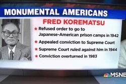 #MonumentalAmerican: Civil Rights Activist Fred Korematsu