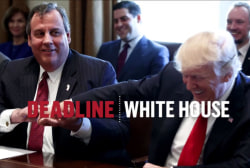 What does Donald Trump think of Chris Christie's tell-all?