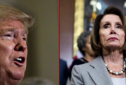 Trump showing 'first sign of surrender' to Pelosi