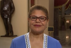 Rep. Karen Bass: Matt Whitaker 'a hack' for Trump