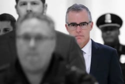 McCabe says DOJ officials discussed removing Trump after Comey firing