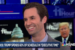 Jeremy Peters: Trump schedule leak shows WH staff don't think much of him