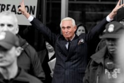 Judge considers a gag order for Trump confidant Roger Stone