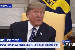 Barr breaks silence on release of Mueller report