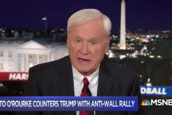 Matthews asks which Democrats will Trump fear in 2020