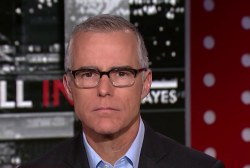 Andrew McCabe tells Chris Hayes the president may be compromised