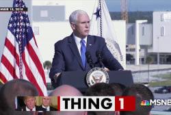 Trump: 'It's the future... It's space.'