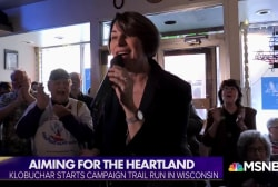 Klobuchar aims campaign towards the heartland, bipartisanship