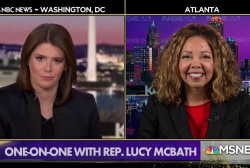 For Rep. Lucy McBath, fight for gun control legislation is personal
