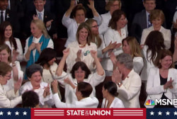 Democratic women steal a moment amid Trump's SOTU jobs rhetoric