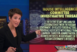 House Intel outlines parameters of Trump investigations