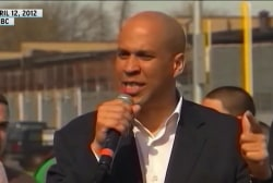 Booker brings unique energy, optimism to 2020 race