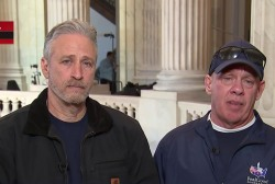 Jon Stewart and lawmakers fight for 9/11 first responders' care