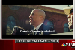 Cory Booker announces his 2020 bid