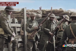 Peter Jackson breathes new life into WWI footage