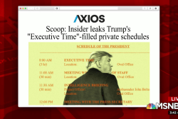 The hypocrisy of the president's 'Executive Time''