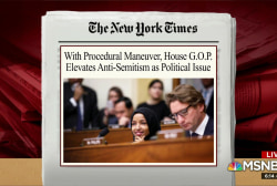 GOP shows double standard in condemning anti-Semitism