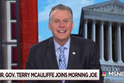 Former Governor Terry McAuliffe on when he'll decide about 2020