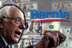 Bernie's 2020 campaign is off to an impressive start