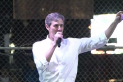 Beto O'Rourke headlines Trump counter-protest in El Paso