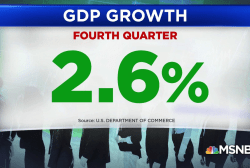 GDP at 2.6% for fourth quarter