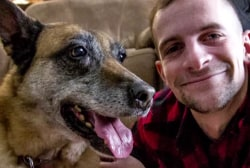 #GoodNewsRUHLES: Army veteran adopts dog he served in Iraq with
