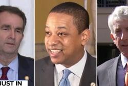 Virginia's top 3 officials are each facing major scandals
