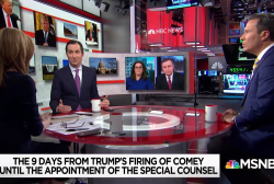 Figliuzzi: McCabe 'felt he had enough' to add Trump to existing Russian meddling investigation