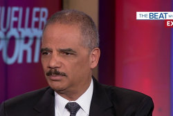 Eric Holder knocks Trump AG for burying Mueller report, just the 'beginning'