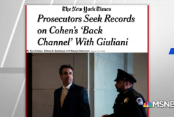 NYT: Prosecutors seek records on Cohen's 'back channel' with Giuliani