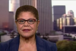 Rep. Karen Bass: Trump never separated himself from white supremacists