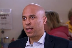 Cory Booker on Trump: 'Here's a guy that couldn't condemn Nazis'
