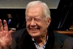 On Friday, Jimmy Carter becomes oldest living former US president